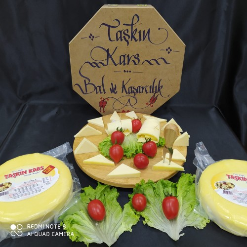 Vakumlu  Göbek Kaşar peyniri kg